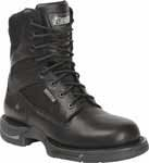 Rocky Long Range 8-Inch Black Side Zip Waterproof Uniform Boot - 8800