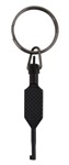 Black Flat Swivel Handcuff Key