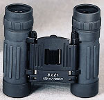 Black Compact 8 X 21mm Binocular