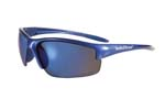 Smith and Wesson Equalizer Shooting Glasses - Blue Frame with Blue Mirror Lens
