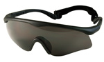 Basic Issue ANSI Rated Black Interchangeable Goggle Kit