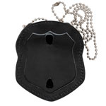 NYPD Style Leather Badge Holder