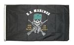 USMC Mess With The Best Flag - 3 x 5