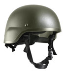 Military Style Olive Drab ABS Mich-2000 tactical helmet