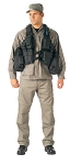 Black Tactical Hydration Assault Vest