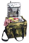 Large Woodland Camo Insulated Bag