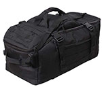 Black Tactical 3-in-1 Convertible Mission Bag