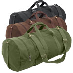 30-inch Vintage Double-Ender Canvas Duffel Bag