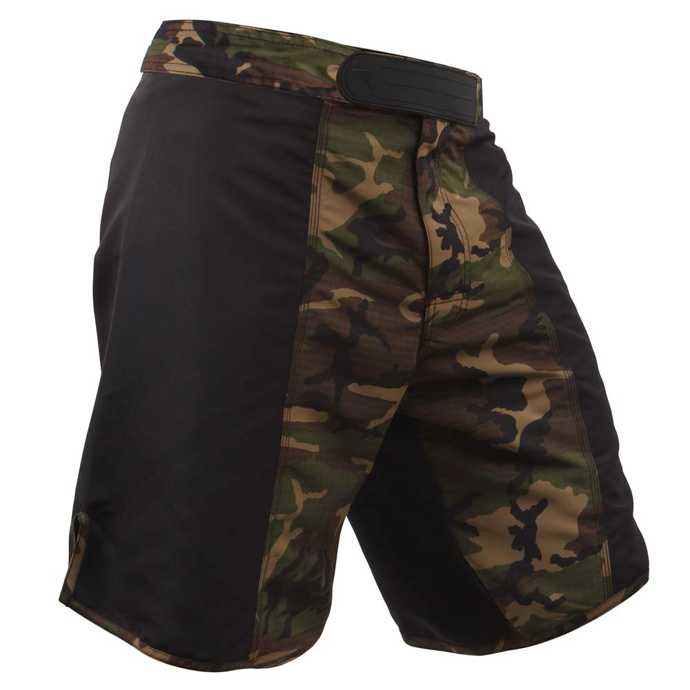 Woodland Camouflage Fight Shorts Mma Shorts