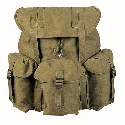 G.I. Style Military Canvas Backpack | Military Bags