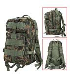 Woodland Digital Tactical Military Transport Pack