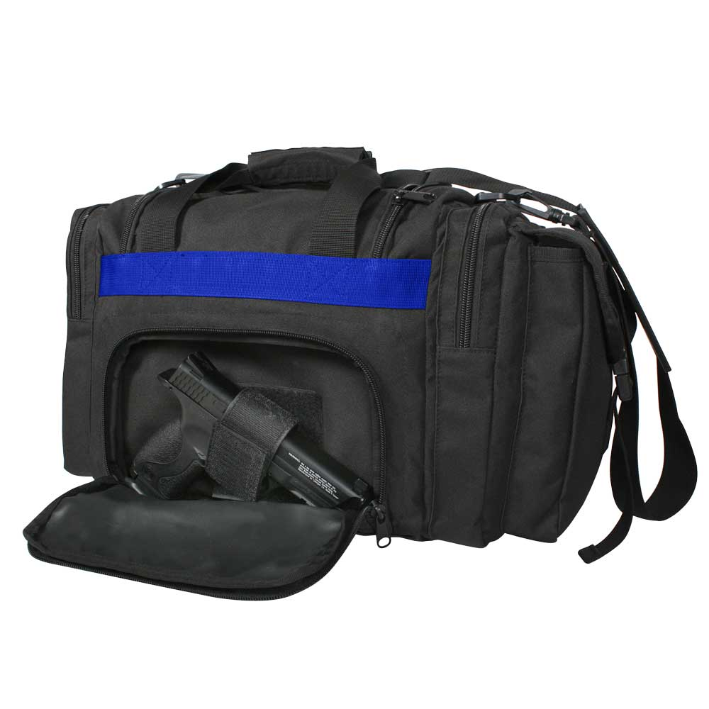 Thin Blue Line Concealed Carry Duffle Bag
