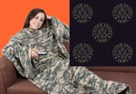 US Army Snuggie Style Sleeved Blanket