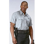 Grey Short Sleeve Genuine Police Issue Uniform Shirt