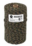 Woodland Camo 550 Military Paracord 300 Foot Roll