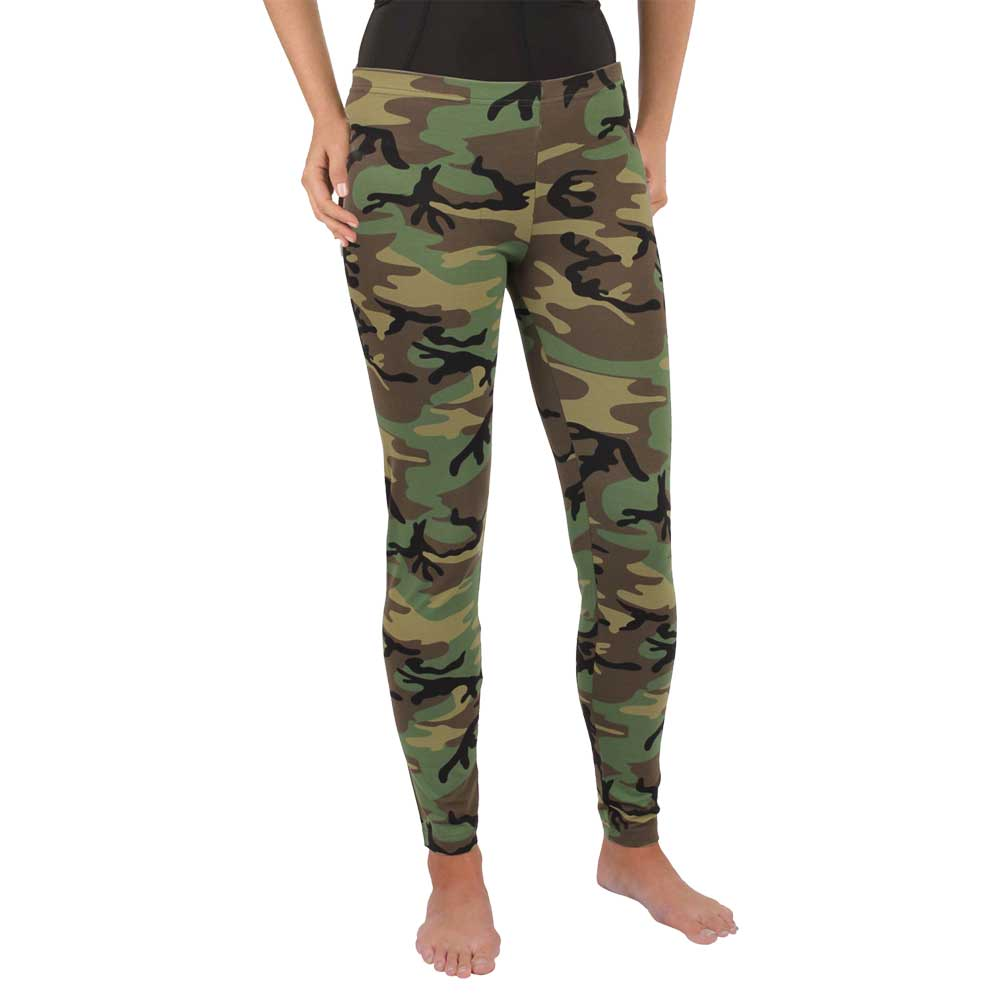 Womenu0026#39;s Woodland Camouflage Leggings