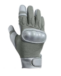 Foliage Flame Resistant Hard Knuckle Cut Resistant Tactical Glove