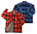 Extra Heavyweight Sherpa-Lined Flannel Shirts