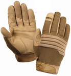 Coyote Padded Knuckle Gloves