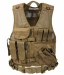 Coyote Brown MOLLE Military Tactical Vest