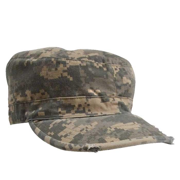 Acu Digital Camo Patrol Cap Vintage Military Fatigue Hats