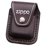 Black Zippo Leather Holder