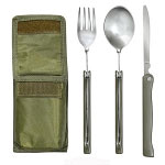 Basic Issue Chow Set with Olive Drab Pouch