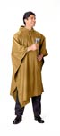 GI Style Coyote Brown Ripstop Poncho