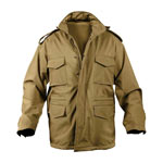 Coyote M-65 Soft-Shell Tactical Field Jacket