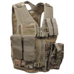 Kids Multicam High Performance Tactical Paintball Vest