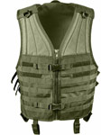 Olive Drab MOLLE Modular Tactical Vest