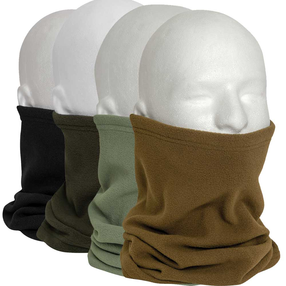 Polar Fleece Neck Warmer Fleece Neck Warmers