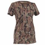 Longer Smokey Branch Camo Women's T-shirt
