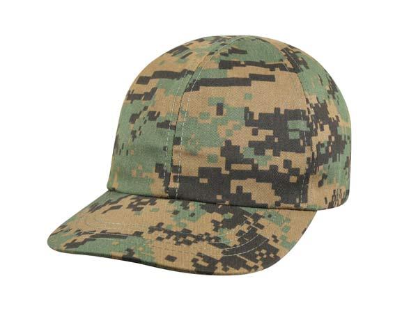digital woodland camouflage baseball hat