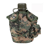 Woodland Digital Camo G.I. Style Canteen Cover