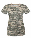 ACU Digital Camouflage Womens T-Shirt