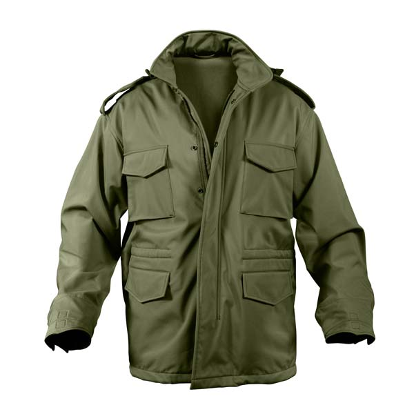 Olive Drab Soft Shell M 65 Field Jacket