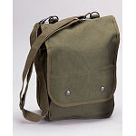 Basic Military Canvas Map Case Shoulder Bag