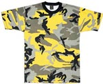Stinger Yellow Camo Military T-shirt