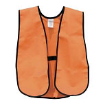Deluxe Easy 10 Orange Safety Vest