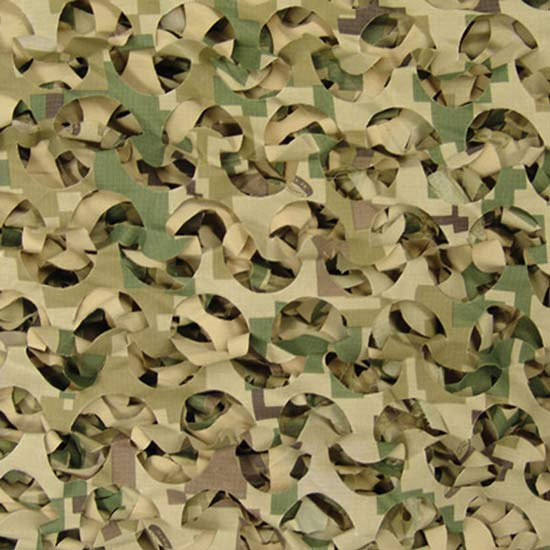 Large All Weather Digital Woodland Camo Netting Cover