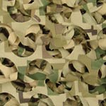 "Small All-Weather Woodland Digital Camouflage Netting - 3'10"" x 9'10"""