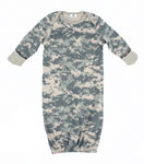 Infant ACU Digital Camo Long Sleeve Sleeper