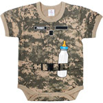 ACU Digital Camo Soldier Infant Onesy