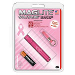 Maglite Pink Solitaire AAA Flashlight