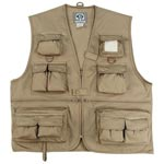 Uncle Milty Khaki Travel Vest