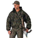 Smokey Branch Camo Heavyweight Insulated Hunting Jacket
