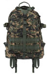 Woodland Digital Camo Large Transport Military Pack