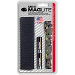 Woodland Camo AA Mini-Maglite Holster Combo Pack
