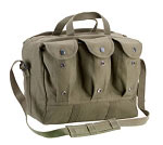 Military Type Canvas Medical Equipment Bag - Black or Olive